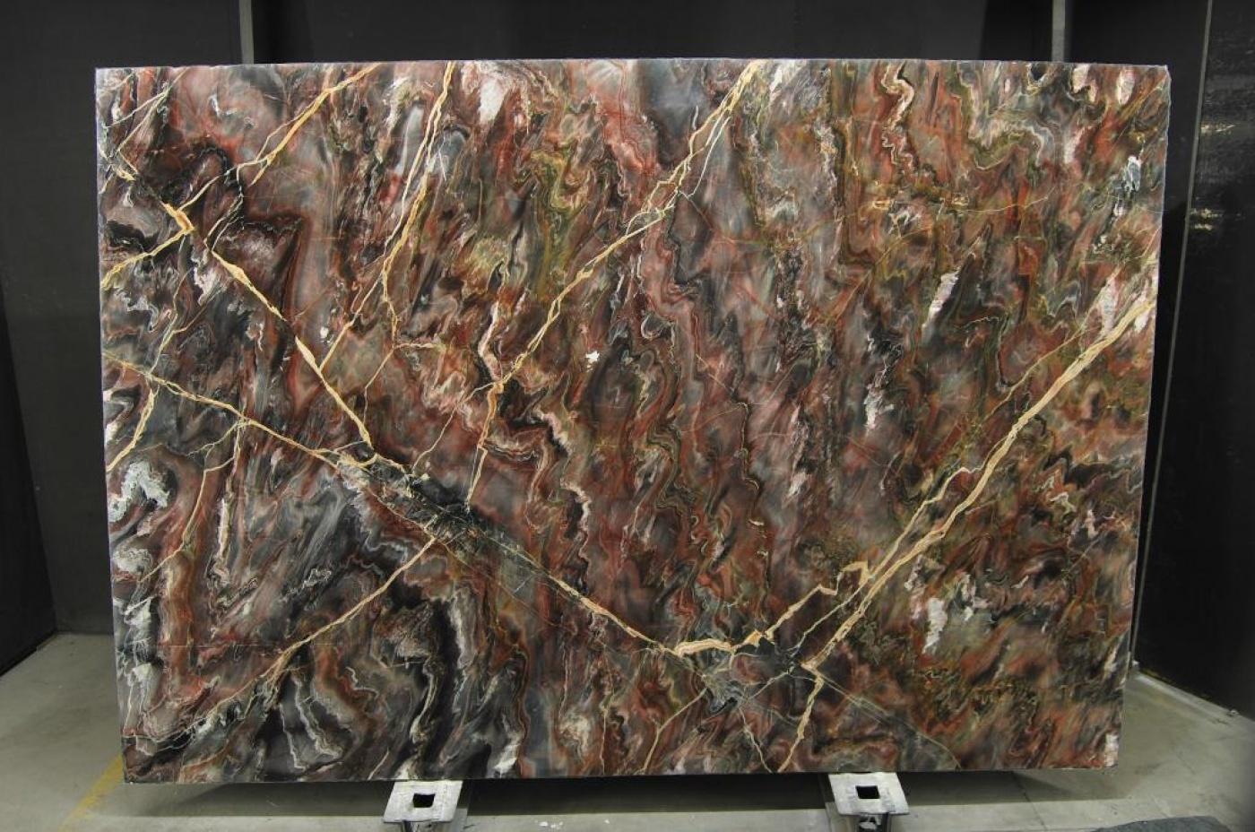 Quartzite Marbre naturel Venice Black